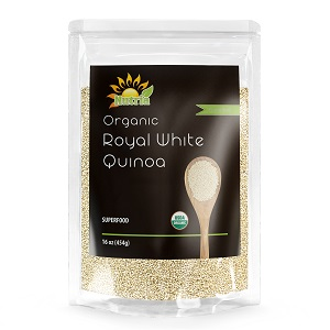 Organic Royal White Quinoa Front